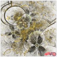 تصویر گل طلایی