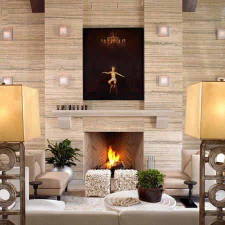 کاغذ دیواری های مدرن با طرح تخته سنگ
